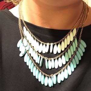 Necklace with 3 layers